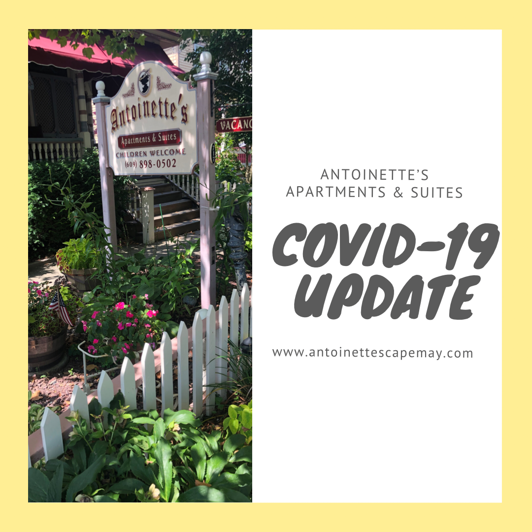 COVID-19 update brought to you by Antoinette's